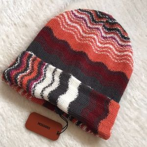 Missoni knit cuff hat